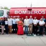 Donamos un camión cisterna al Cuerpo de Bomberos de Juchitán